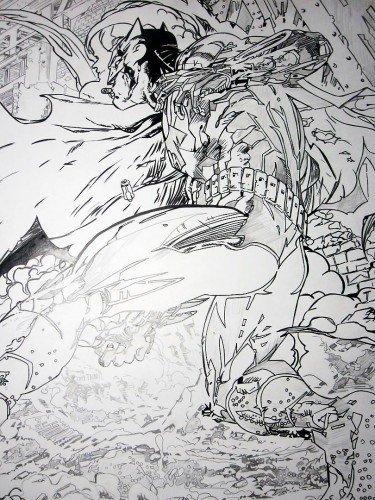 Batman - Encrage en cours - Jim Lee