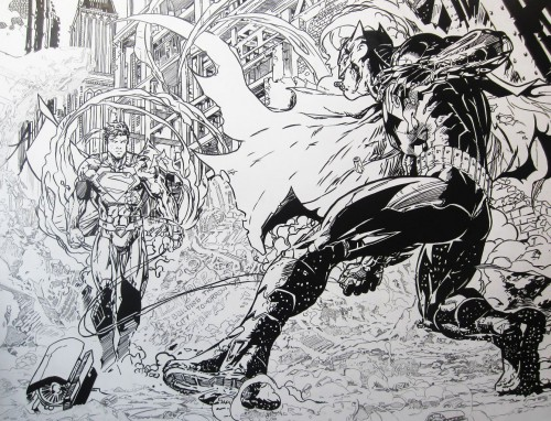 Batman / Superman - Encrage en cours - Jim Lee