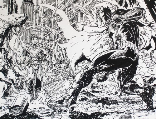 Batman / Superman - Final - Jim Lee