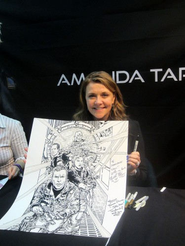 Amanda Tapping et ma reproduction Stargate