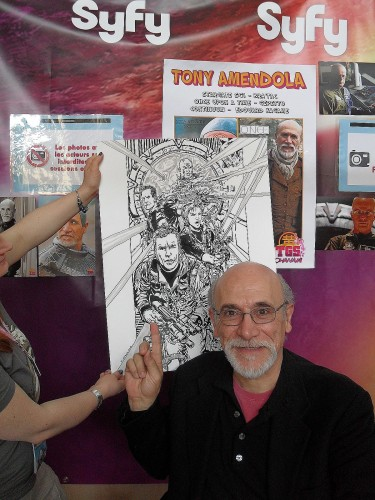 Tony Amendola et ma reproduction Stargate