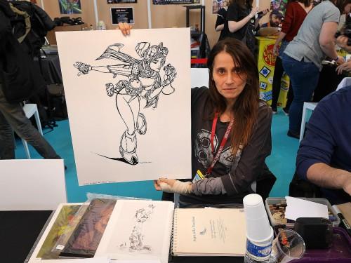 Claire WENDLING et mon dessin