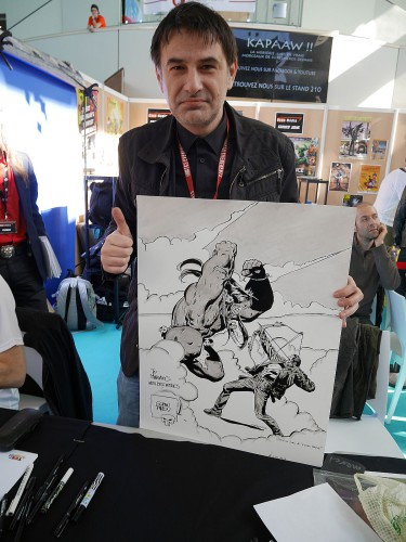 Goran PARLOV et ma repro Hulk vs Punisher