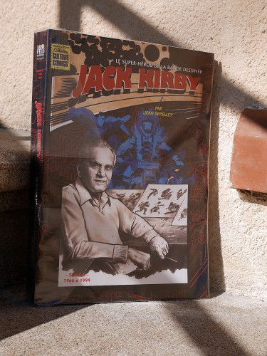 Biographie Jack Kirby, 1966-1994 - la couverture