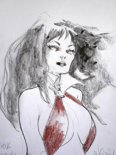 Vampirella par Claire WENDLING