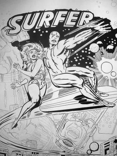 Silver Surfer - Jack Kirby - Encrage en cours