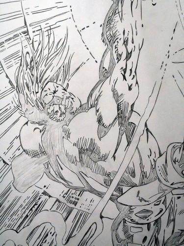 Thor - Alan Davis - crayonné