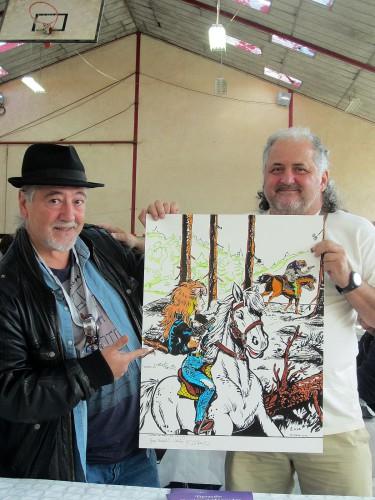 Rubine - Bruno Di Sano et moi - Festival de Cajarc
