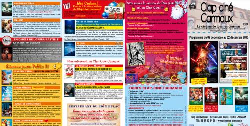 Programme Clap-ciné