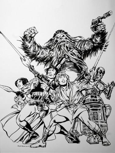 Star Wars - La fine équipe