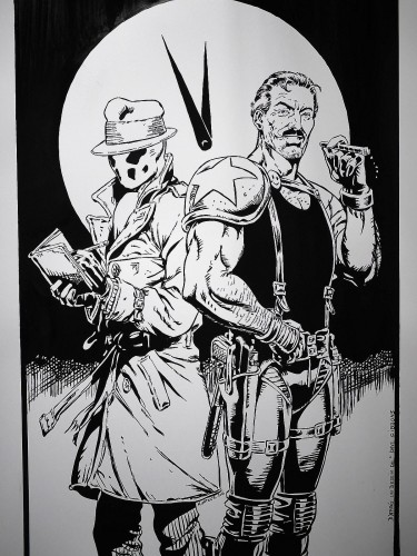 Rorschach et le Comédien de Dave Gibbons